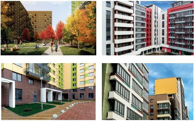 оформление домов и кварталов по программе реновации
