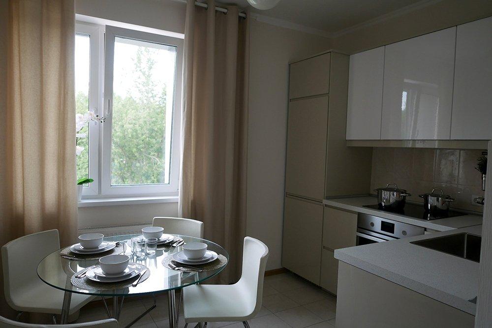 кухня в новых квартирах