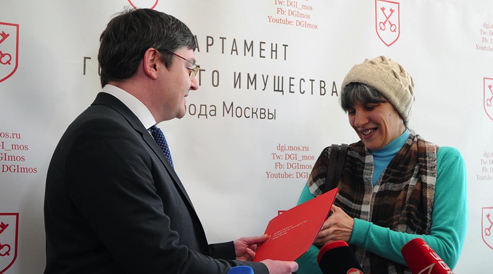 первые переселенцы получают документы по программе реновации последние новости