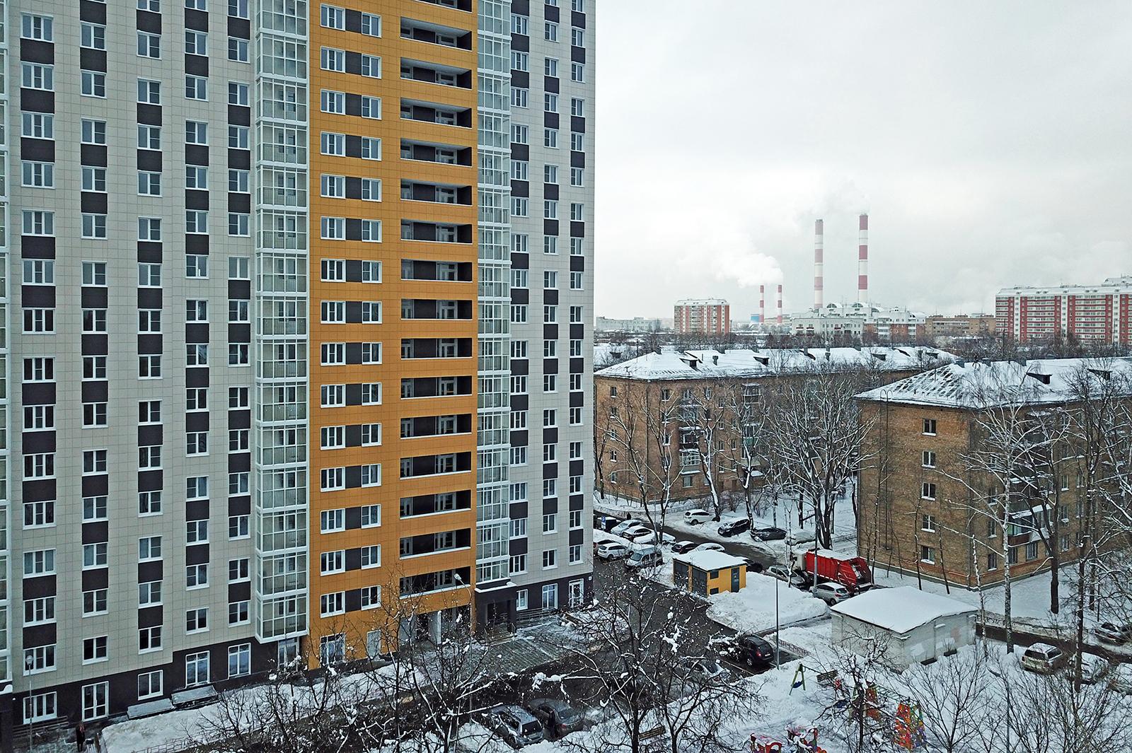 Дом для заселения 5-я Парковая ул., д. 62 Б