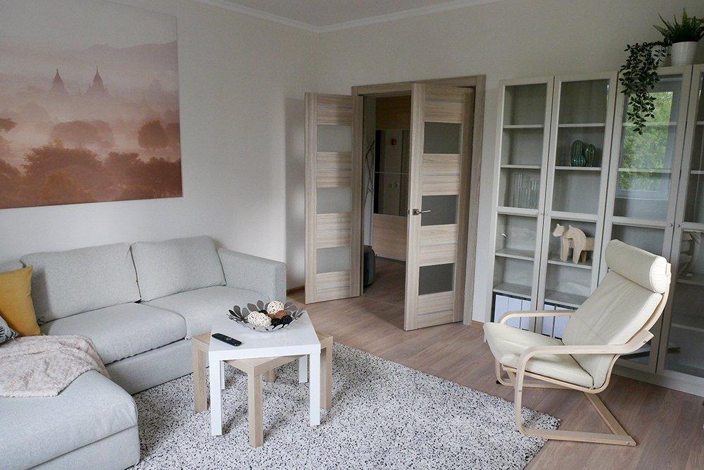 зал гостинная в квартирах для переселенцев