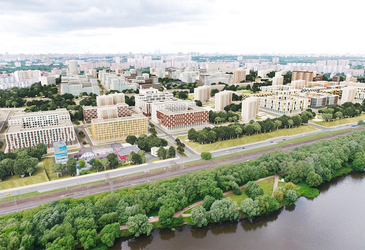 Варианты застройки района Царицыно ТПО «Резерв»