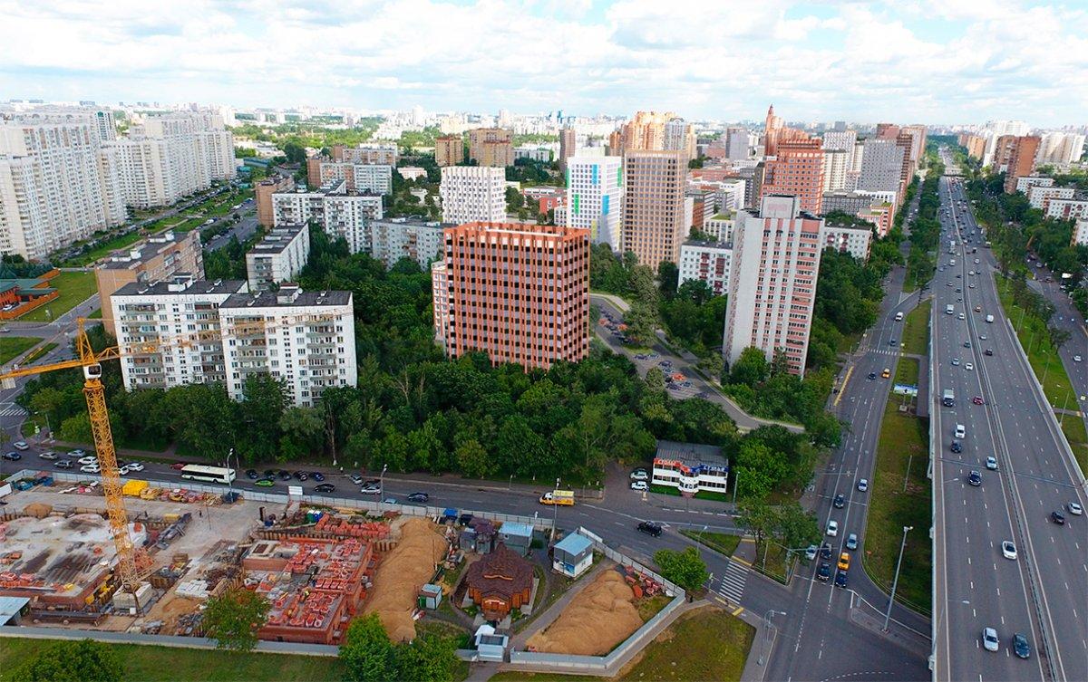 Проект бюро Speech застройка в Кузьминках