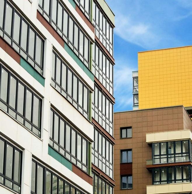 фасад дома по реновации