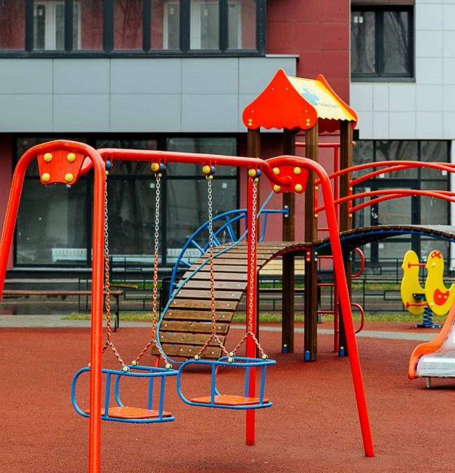 реновация детские площадки