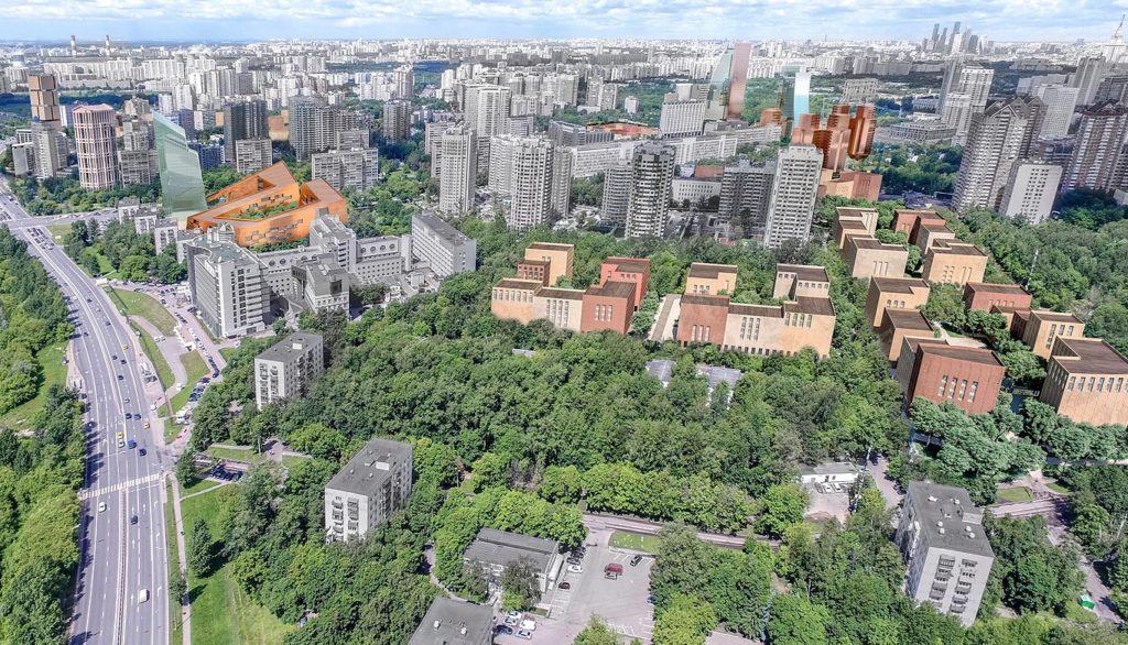 Проект реновации проспект Вернадского Кв. 32-33, 34-35