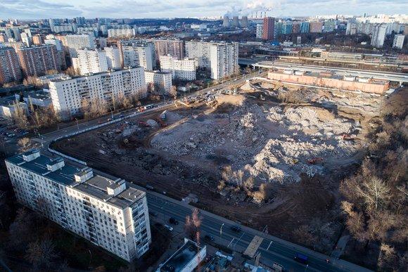 На месте Ховринской больницы построят дома для реновации