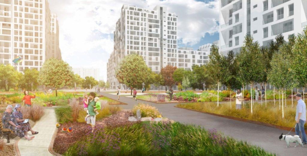 Разрабатывается 89 проектов планировки кварталов по реновации