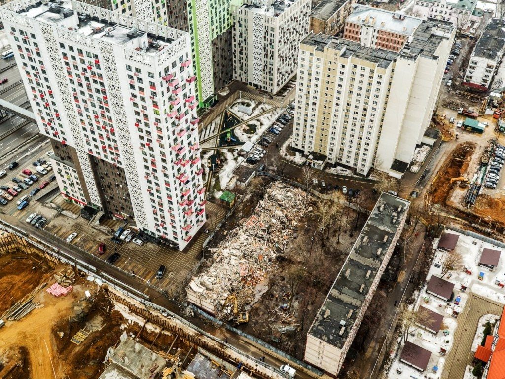 В госдуму внесли закон о реновации по всей России