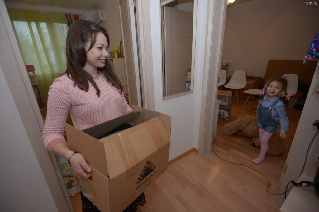 Более 90% семей получили квартиры в Можайском районе