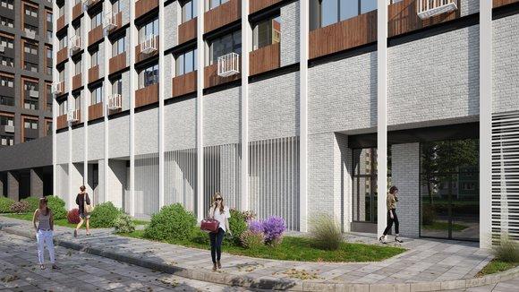 Каким будет дом на Базовской улице в Западном Дегунино