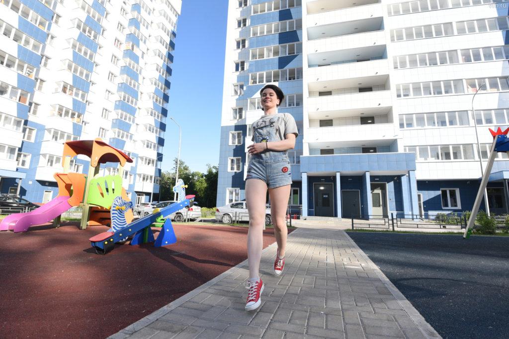 Белый дом на на улице Октябрьская владение 105 в Марьиной Роще построят в 2020 году