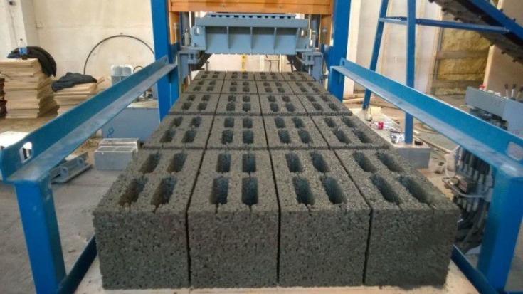 Производство блоков для строительства по программе реновации