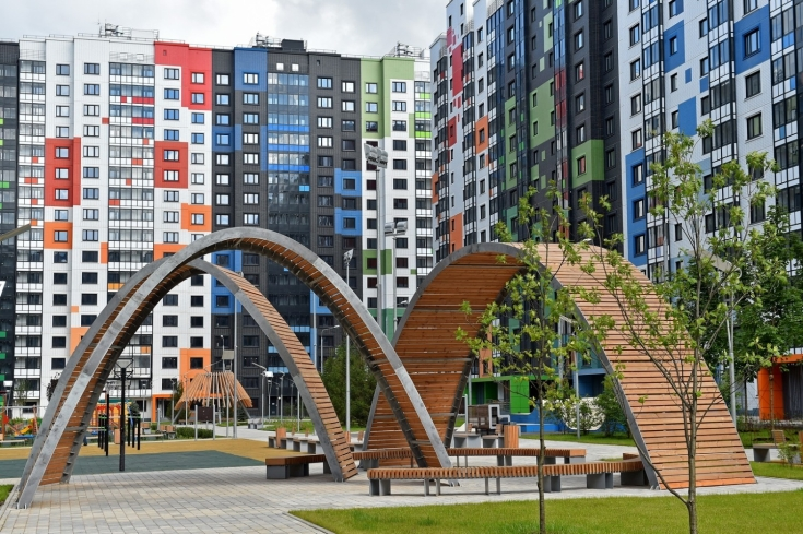 Жители Северного смогли увидеть новые квартиры