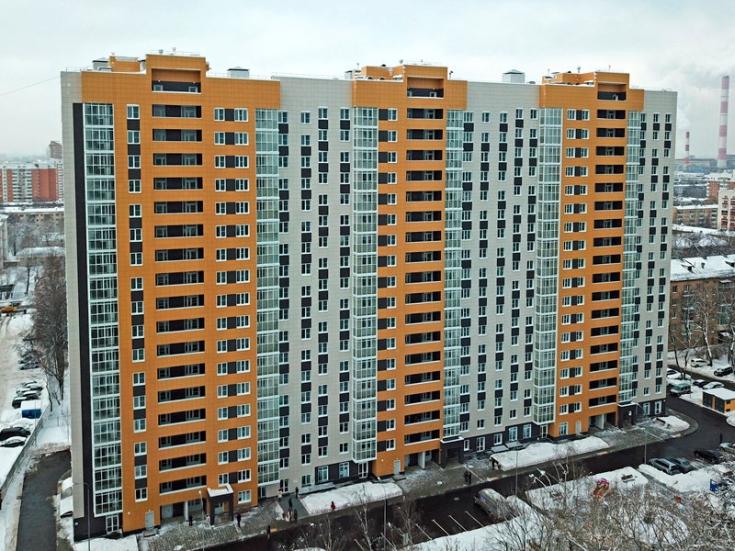 9 семей в Нагатинском Затоне получили ключи от новых квартир на улице Судостроительной, 17
