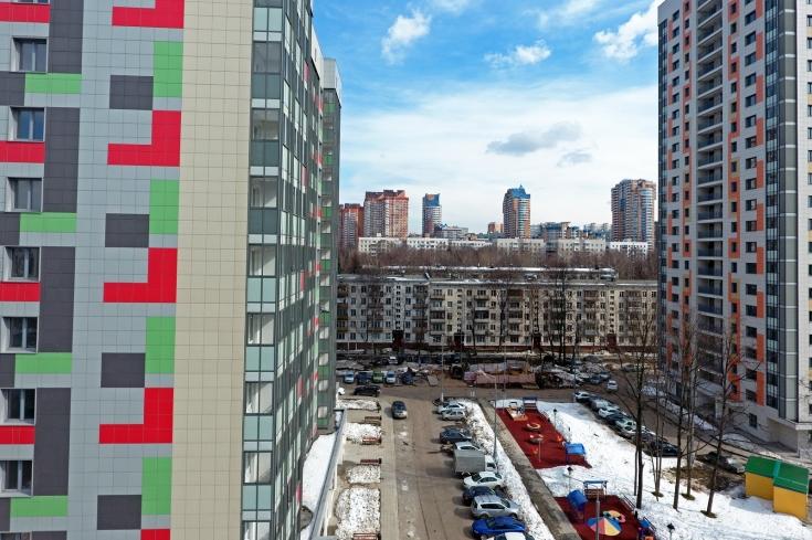 В районе Фили-Давыдково по адресу ул.Малая Филевская, дом № 22 началось еще одно расселение по программе реновации