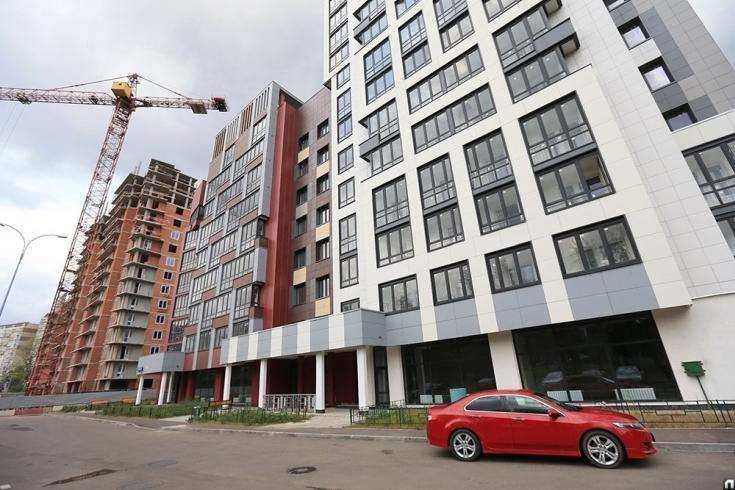 В Южнопортовском районе началось возведение дома по программе реновации