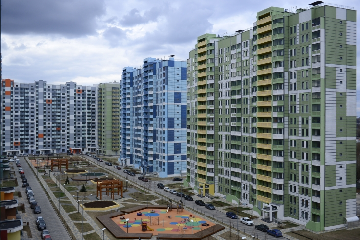 На ул.Артюхиной, вл. 28 А завершается отделка фасадов дома