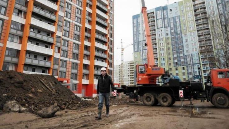 В Южном Тушине по ул. Лодочной, вл. 11 строится дом по реновации