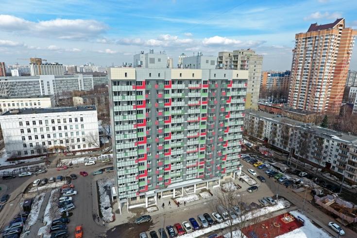 Строительство дома по адресу ул. Ставропольская, вл. 23/1 в Люблино планируют завершить в 2021 году
