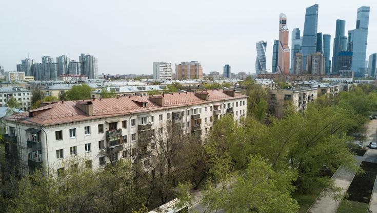 В Черемушках продолжается возведение двух новых домов по программе реновации