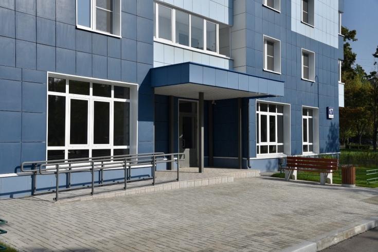 Жилой дом по программе реновации строят в районе Ивановское