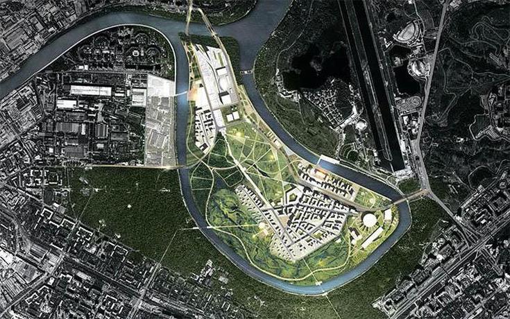 В Мневниковской пойме построят спорткластер, парк и квартал по реновации