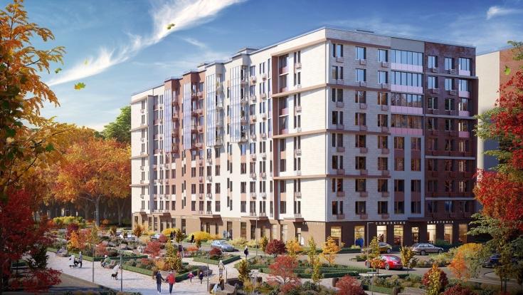 Строительство дома по программе реновации началось в районе Басманный на ул.Бауманской вл.47/1
