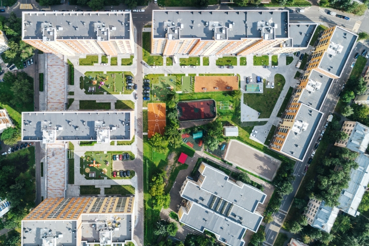 Строительство дома в Нагорном по адресу Симферопольский пр., вл.7, стр.1 планируется завершить в 2021 году