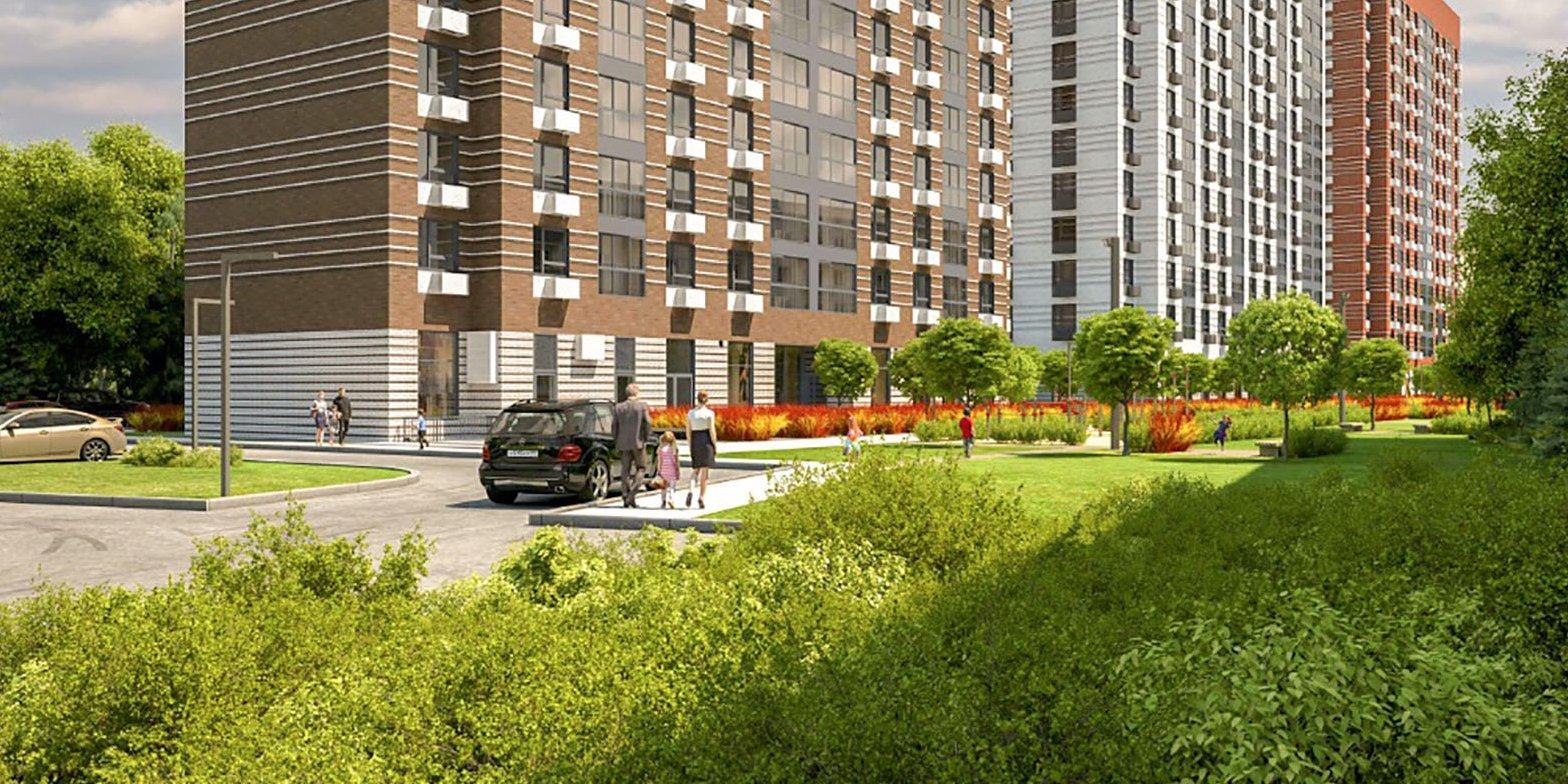 Три дома по программе реновации начали строить в Бирюлеве Западном