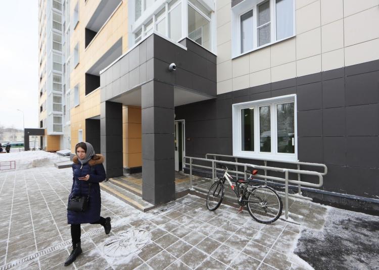 На ул.Загорьевской, вл.1/2 в Бирюлеве Восточном достраивается двухсекционный дом на 108 квартир