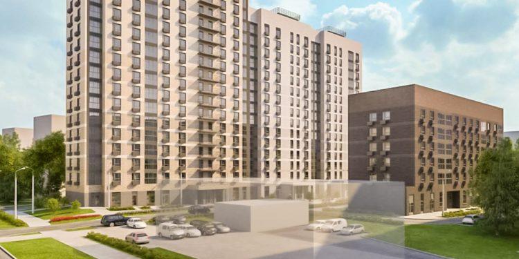 По ул.Кантемировская, вл.27 в Царицыно строят дом на 266 квартир