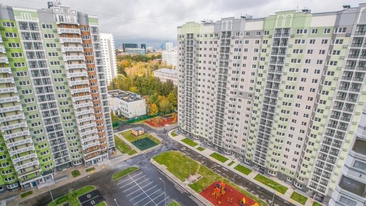 В Марьиной роще по адресу ул.Октябрьская вл.105 возводят дом на 64 квартиры