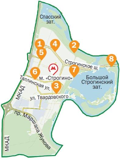 Как образовался и изменился район Строгино