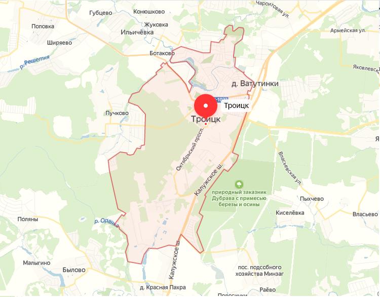 Реновация в городе Троицк ТиНАО