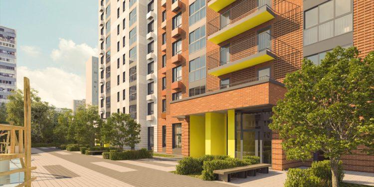 В Зюзине началось строительство трех жилых домов по программе реновации