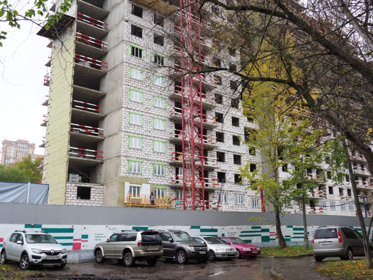 В Щукино по ул. Новощукинская, вл.8к1 в этом году введут первый жилой дом на 306 квартир