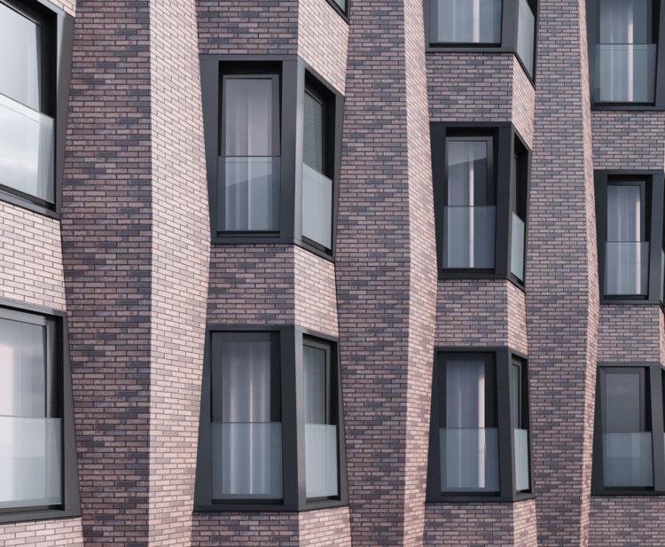 Стартовый дом на Люблинской улице вл. 109/1 облицуют клинкером