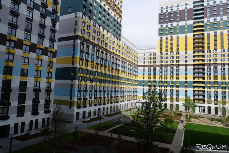 В Мневниковской пойме построят 150 тысяч квадратных метров жилья для переселенцев