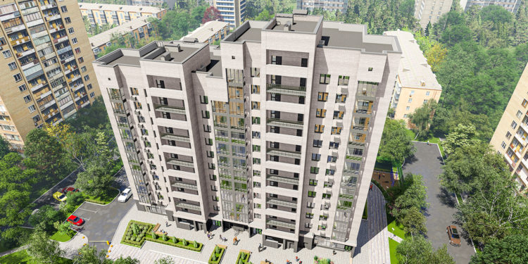 В Марфино по ул.Академика Комарова вл.11 начали строить дом по программе реновации
