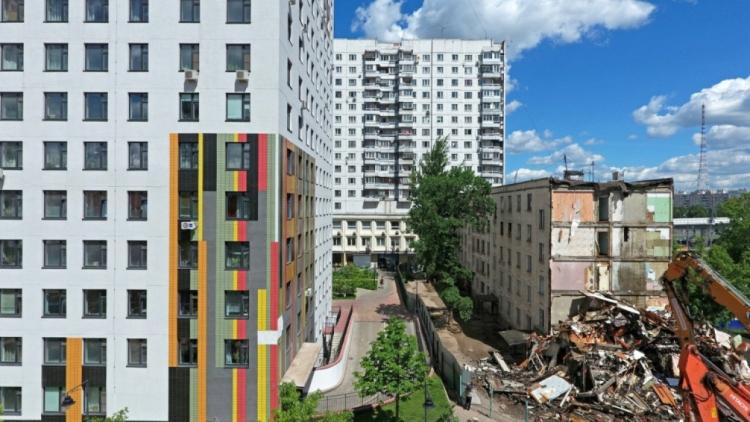 Выдано разрешение на строительство еще трех домов по реновации в СВАО, ВАО и ЮВАО