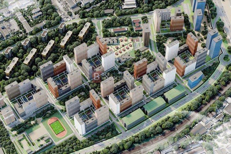 Учебный корпус и ФОК построят при реновации в Бирюлево Восточное