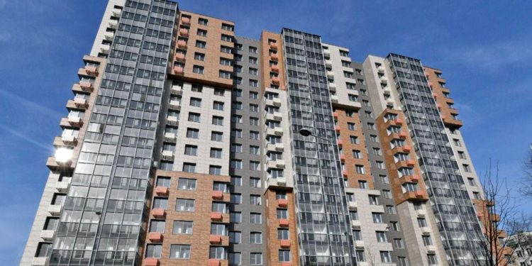 В Кузьминках кв.116 корп.2 построили дом с отделкой под кирпич