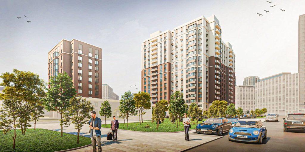 В Коптеве началось строительство двух жилых домов по программе реновации