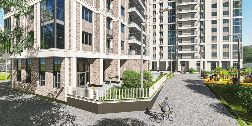 В Тимирязевском районе по адресу Линейный проезд 8А началось строительство жилого дома по реновации