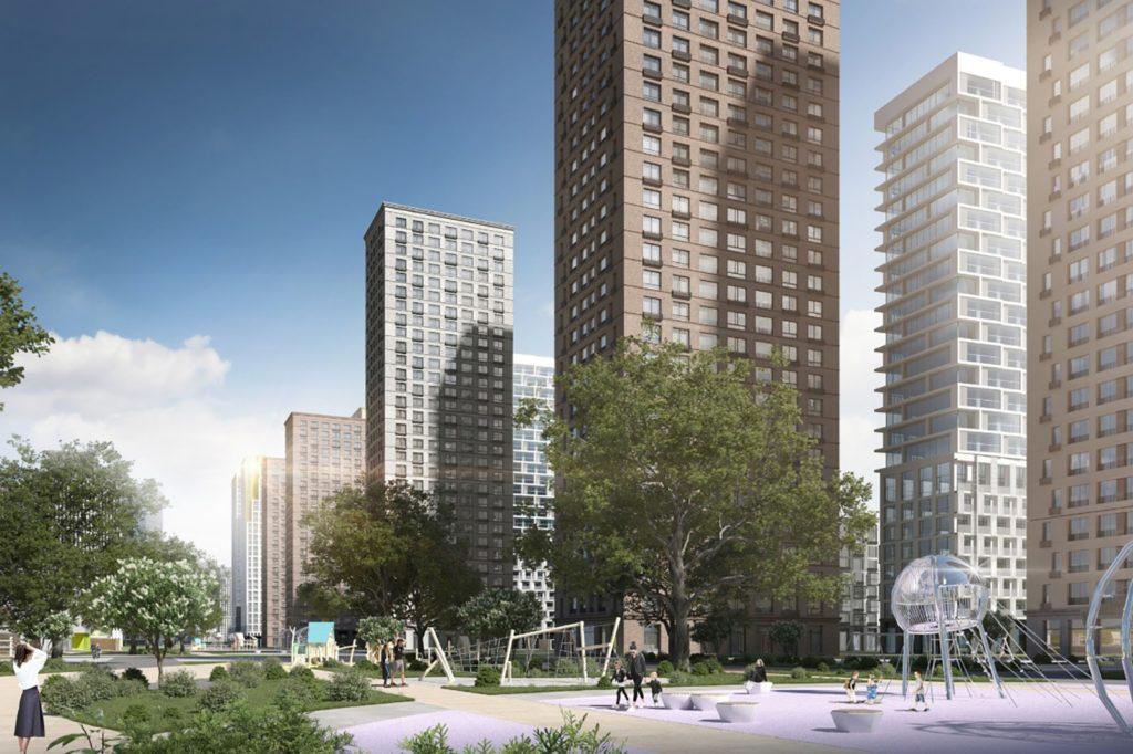 В ЗАО появится жилой район с ледовой ареной и бульваром по реновации