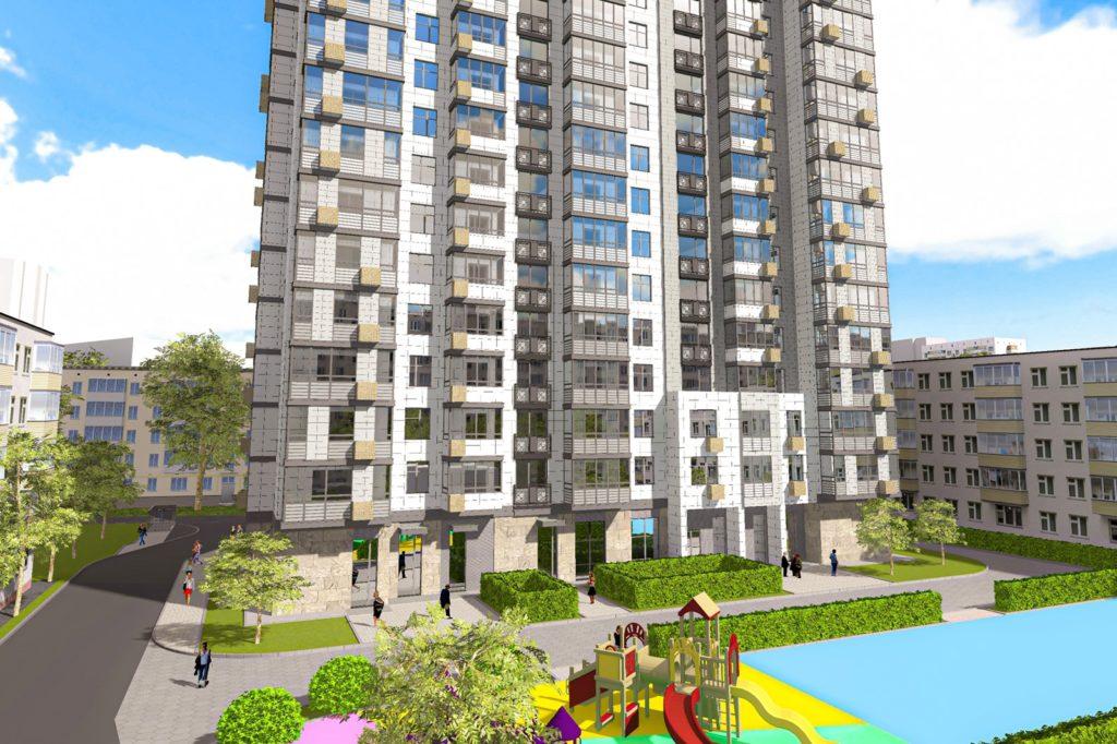 Жилой дом по реновации в районе Головинский на ул. Пулковская, вл. 3 введут в 2021 году