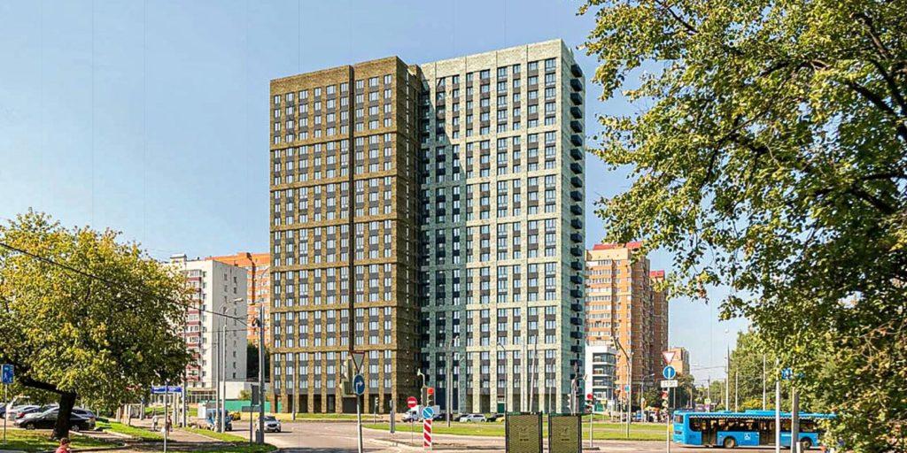 В районе Гольяново по адресу: площадь Белы Куна 1 началось строительство жилого дома по программе реновации