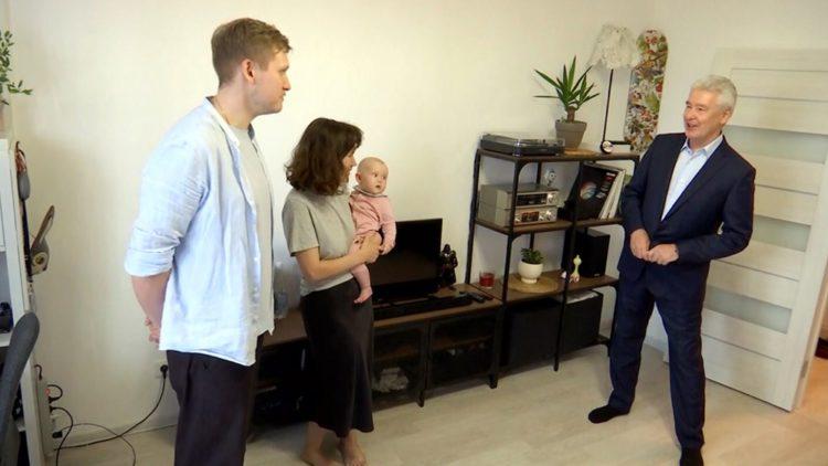 Сергей Собянин осмотрел новостройку в Лосиноостровском районе, возведенную по программе реновации