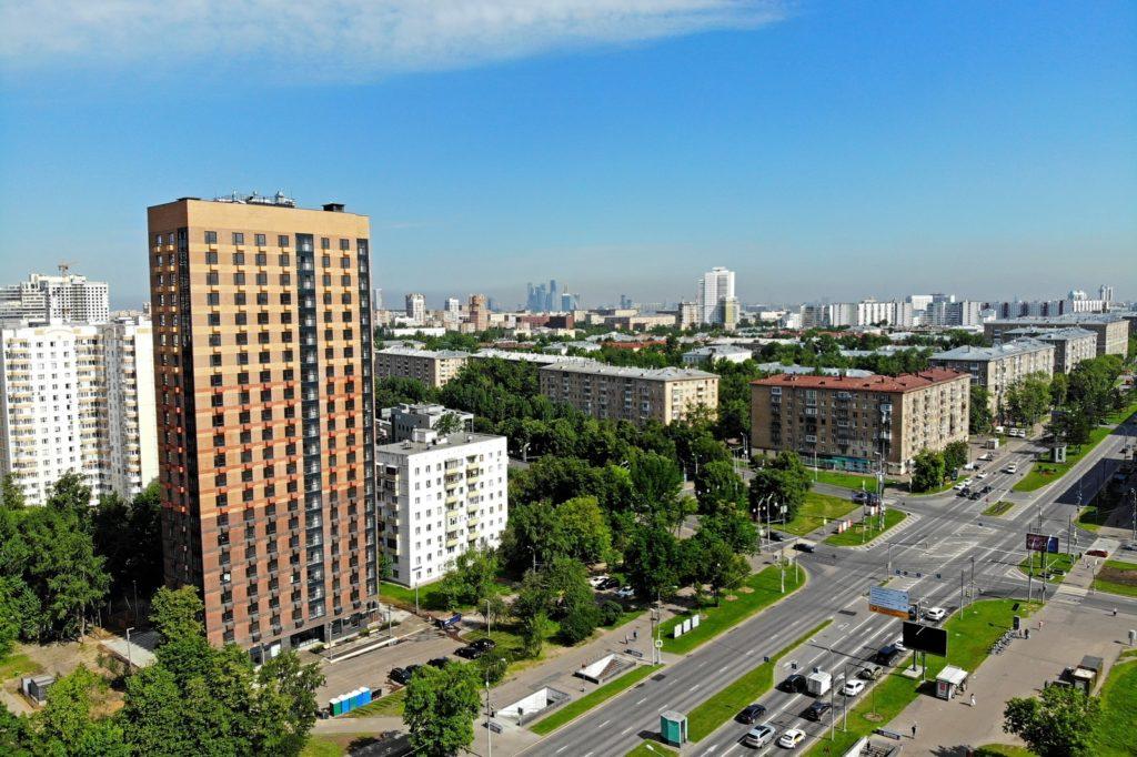 Дом на 105 квартир по реновации сдан в районе Черемушки на Профсоюзной улице, д. 32